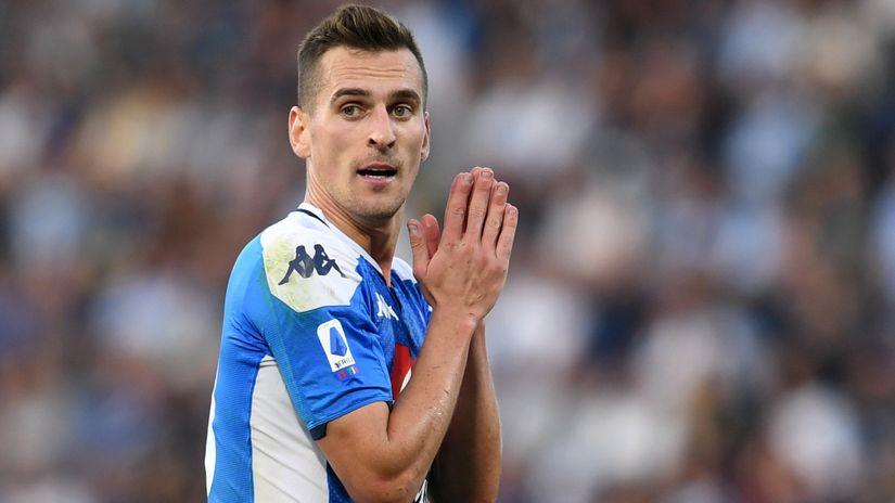"""Progovorio """"napolitanski zatočenik"""" Arek Milik: Patiću, ali ću izdržati!"""