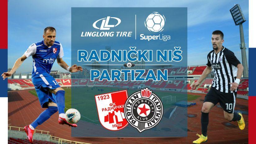 KRAJ: Radnički - Partizan 1:0 (0:0)