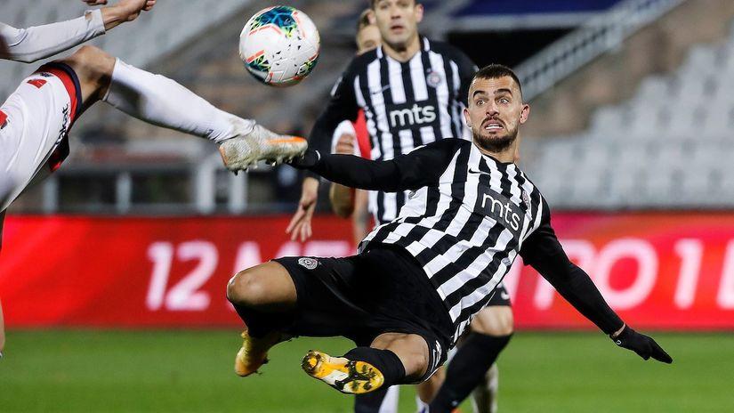 Holenderov rolerkoster: Promašio penal, pa u 90. minutu doneo pobedu Partizanu