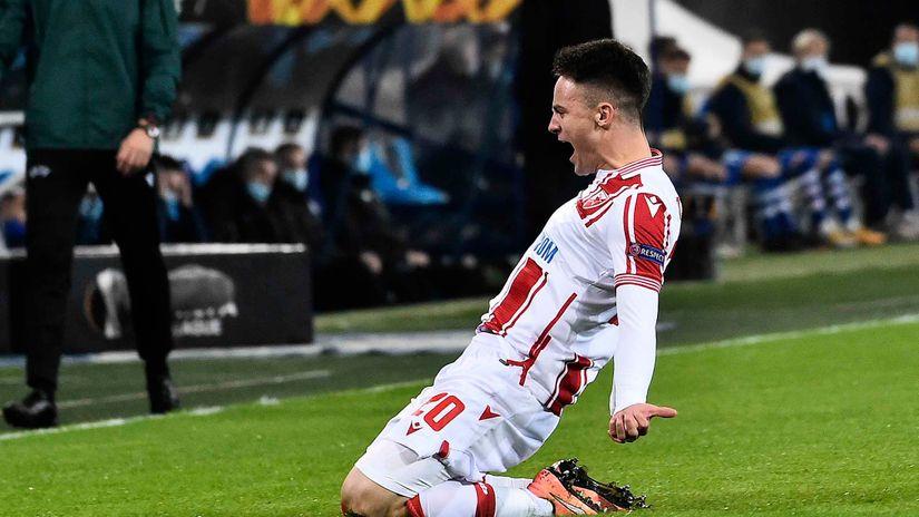 Njegoš Petrović prvi ide iz Zvezde: Anderleht bio na pravom mestu u pravo vreme, čeka se još jedan klub za 3.000.000 evra