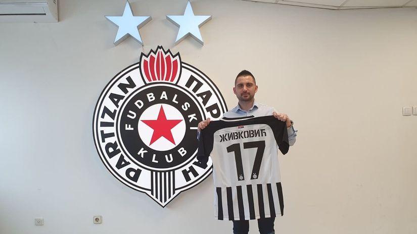 Živković zvanično crno-beli, ugovor do 2023.