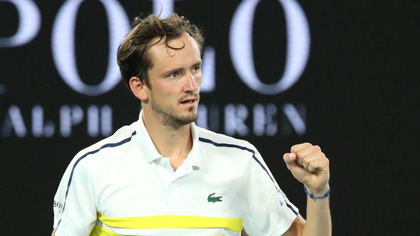 Đoković je dobro predvideo: Medvedev počistio Cicipasa za finale sa Novakom
