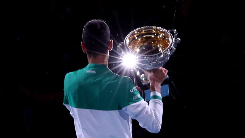 Novak teši Danila: Pitanje je trenutka kad ćeš do grend slema, strpi se još koju godinu