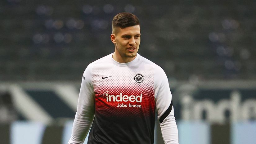 Luka Jović iskreno: Nemam snage za 90 minuta fudbala, povratak u Ajntraht korak napred za mene...