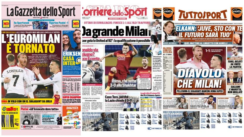 Buongiorno Italia: Evro-Milan i evromagična Roma