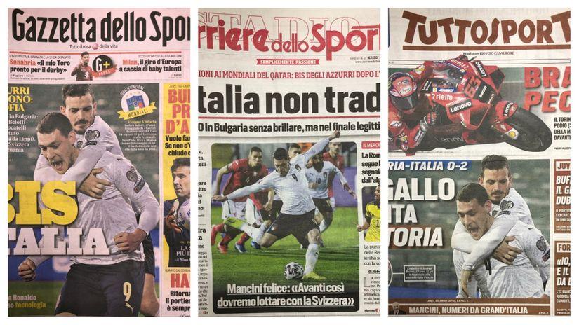 """Buongiorno Italia: Srbija probudila Ronaldovu """"životinjsku"""" volju za osvetom"""
