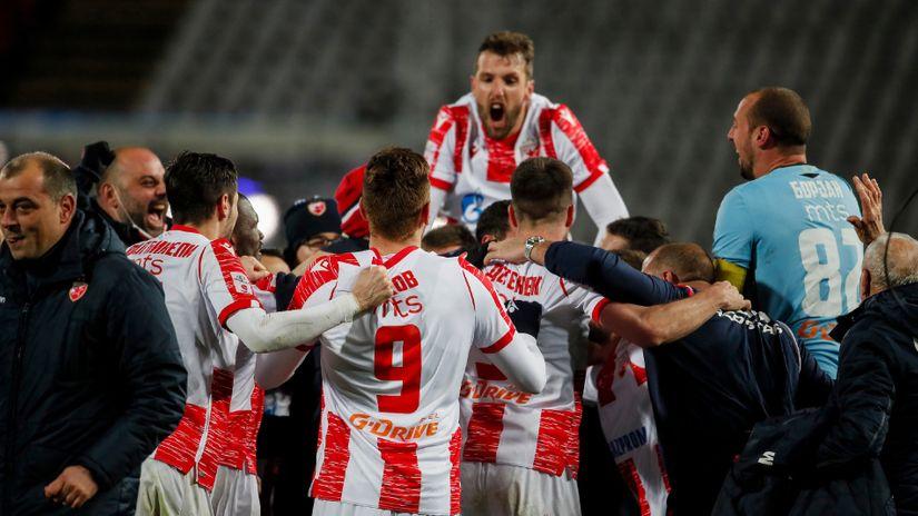 Zvezdina pozlata sezone: Juriš na Benfiku, Muslinov rekord i trocifren broj golova