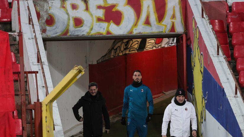 Gest velikog čoveka: Zlatan Ibrahimović spasao Zvezdu oštrije kazne