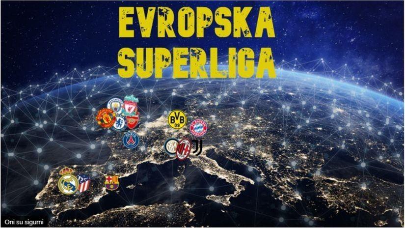 Spremno 5.000.000.000 evra za Superligu Evrope, večeras zvanično predstavljanje plana