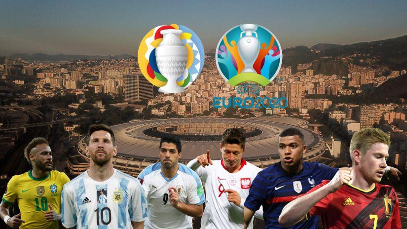Euro vs Kopa Amerika, Mesi ili Ronaldo, Nejmar ili Mbape, Leva ili Suarez: Ko je jači?