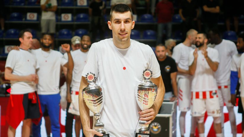Zvezdina lokomotiva i zaslužena nagrada: Ognjen Dobrić je MVP
