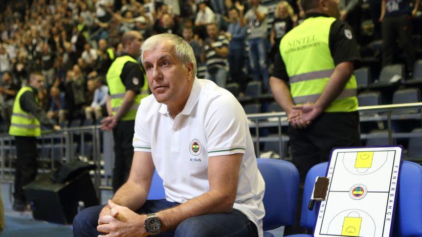 Željko Obradović - Partizanova karta za vaskrsnuće