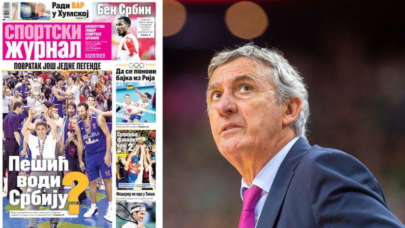 Minimalne šanse za ostanak Kokoškova, Kari Pešić se vraća na klupu Srbije?