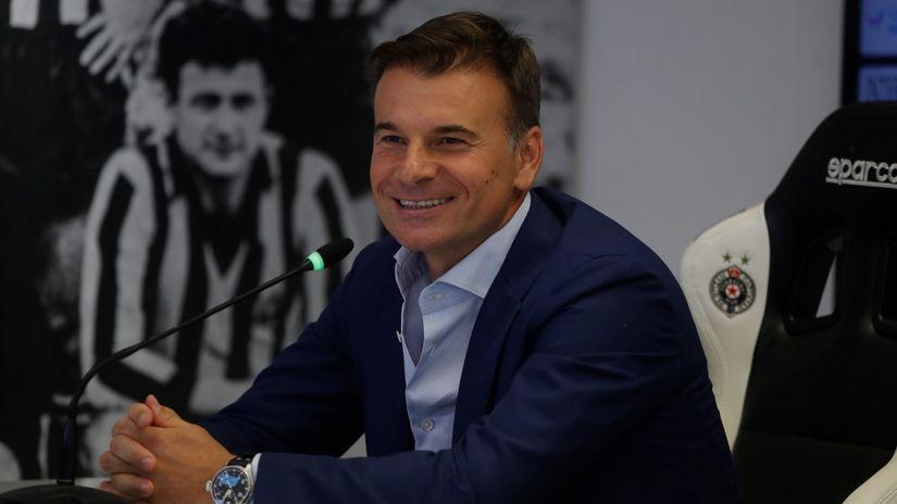 Stanojević pred evropremijeru: Nisam toliki patriota da mislim o srpskom fudbalu, bitan mi je samo Partizan