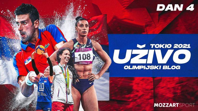 Olimpijski dan (utorak, 27. jul): Mikec i Arunovićeva ostali bez bronze