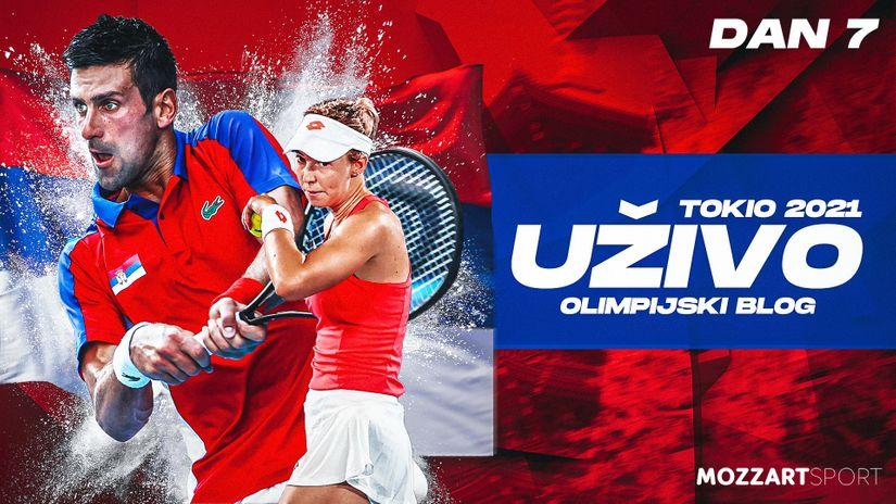 UŽIVO: Olimpijski dan (petak, 30. jul), poraz Novaka i Nine, igraće za bronzu