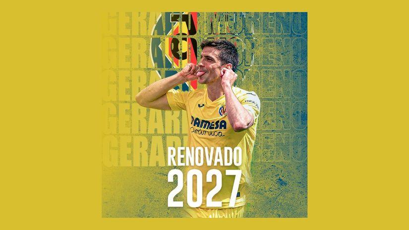 Vratio se u Viljareal i doneo Ligu Evrope, ostaje do 2027: Đerar Moreno potpisao novi ugovor