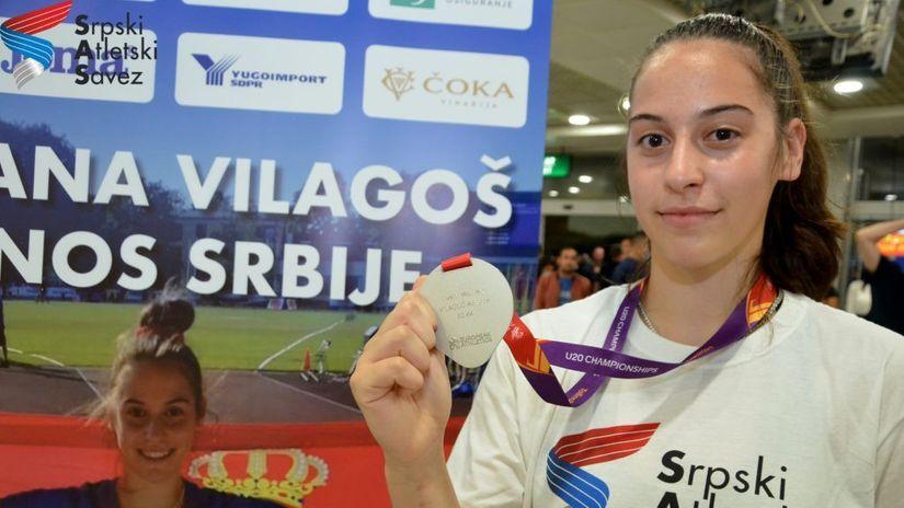 Biće to naša zlatna devojčica: Očekujemo svetski rekord od Adriane Vilagoš