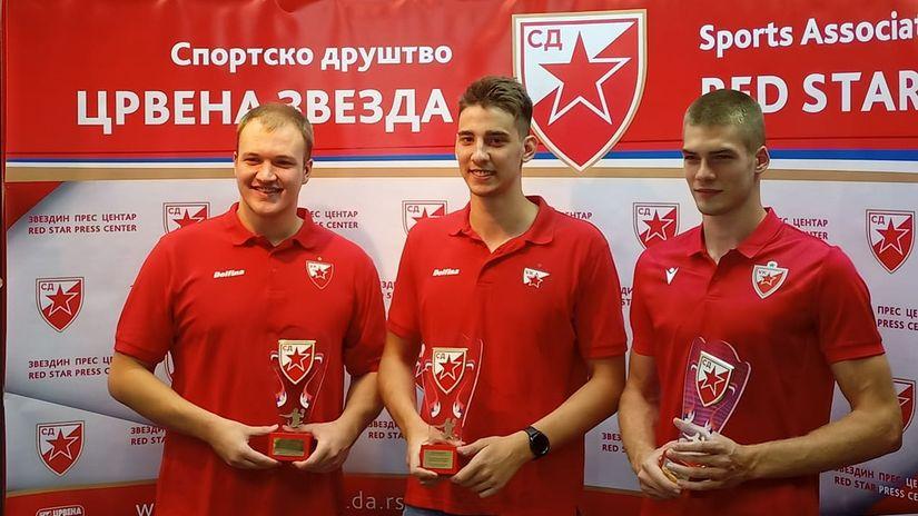 Nagrađeni zlatni momci iz Praga: Vaterpolisti Zvezde pronose klupsku i nacionalnu slavu svetom