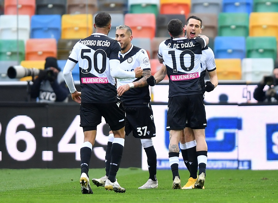 Fudbaleri Udinezea (© Reuters)