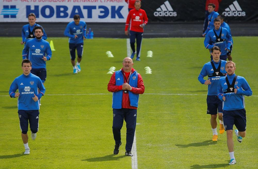 Trening reprezentacije Rusije, Foto: Reuters
