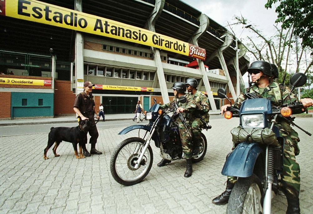 Stadion Atanasio Hirardot (©Reuters)
