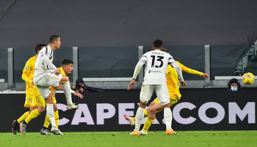 Ronaldo je pogodio jesenas protiv Kaljarija (© Reuters)