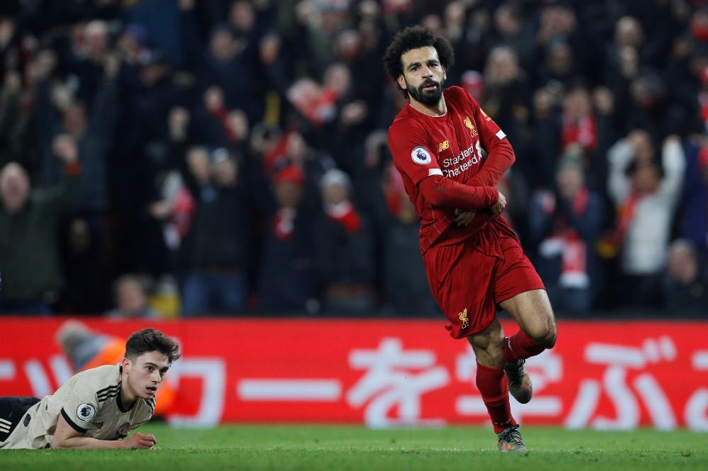 Salah postiže gol (©Reuters)