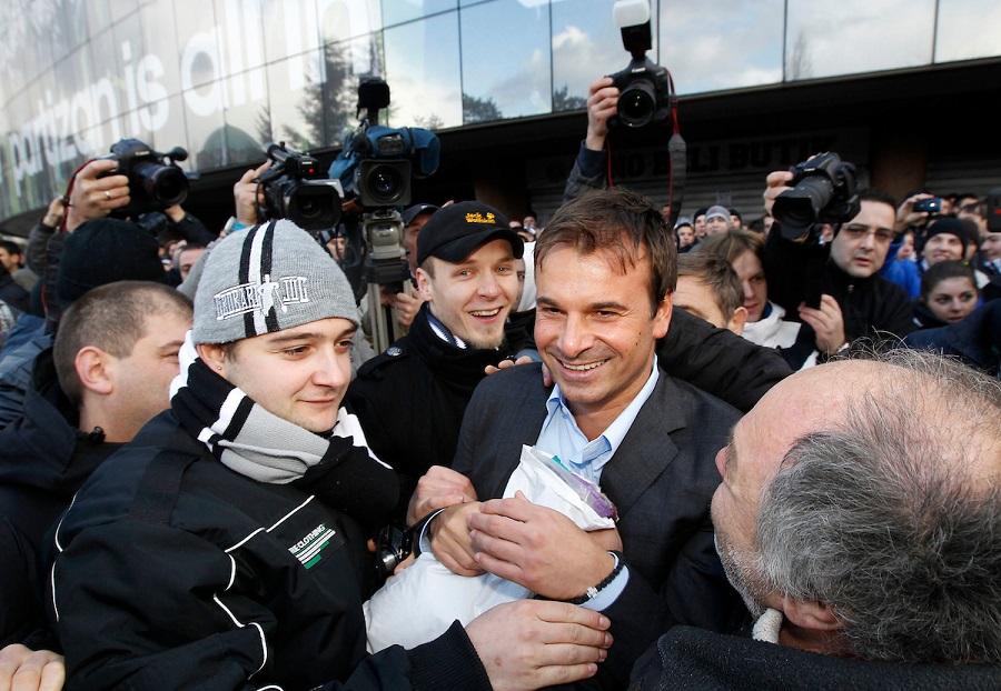Na navijačkim protestima u Humskoj (© Star sport)
