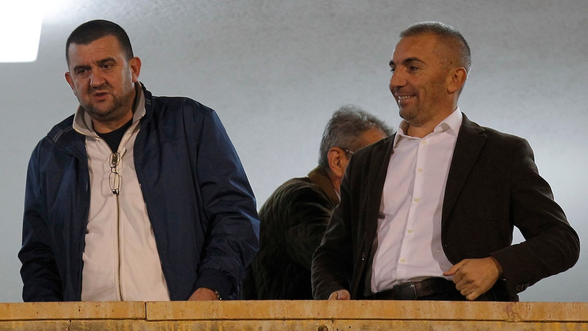 Dragomir Lazović, levo (©Starsport)