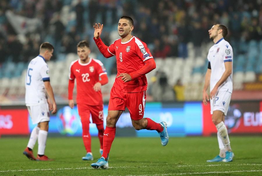 Jedan od najlepših golova u karijeri dao je Luksemburgu (© MN Press)