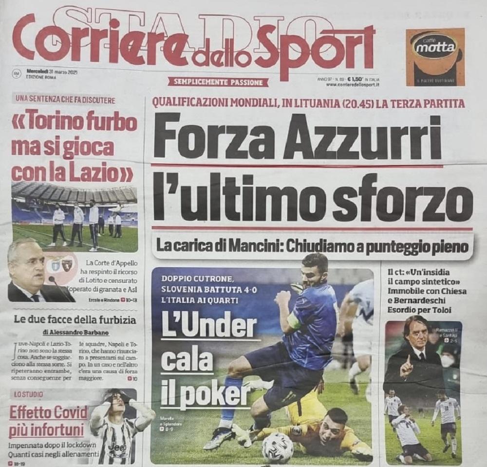 Azuri prva tema u Rimu